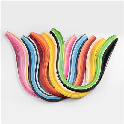 6 Colors Quilling Paper Strips-1