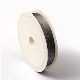 Tiger Tail Wire, Nylon-coated 304 Stainless Steel, 0.38mm; 60m/roll; 10rolls/group