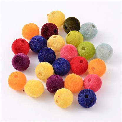 Resin Beads, Flocky Style