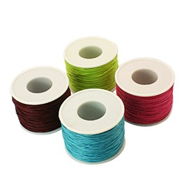 Waxed Cotton Cord, 1mm