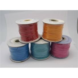 Korean Waxed Polyester Cords, 1mm