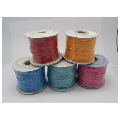 Korean Wax Polyester Cords, 1mm-1