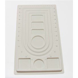 Plastic Bead Design Boards, Rectangle, 23x41x1cm