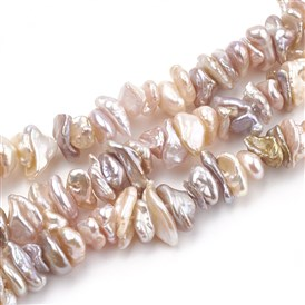 Keshi Pearl Beads Strands, Chip