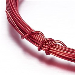 Red Aluminum Wire, Red, 2mm, about 5m/roll