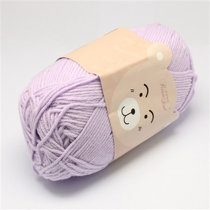 High Quality Soft Baby Cotton Yarns, with Cotton and PAN Fiber, 1.5mm; about 40g/roll, 145m/roll, 10rolls/bag