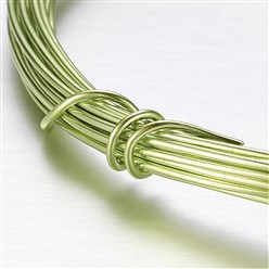 GreenYellow Aluminum Wire, GreenYellow, 2mm, about 5m/roll