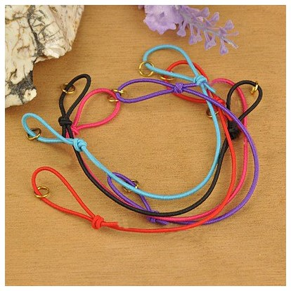 China Factory Elastic Cord Bracelet Making With Iron Jumprings Adjustable 130mm 130mm In Bulk Online Pandawhole Com