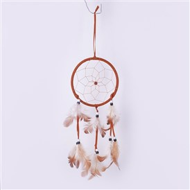 Home Pendant Decoration, Wind Bells, Feathers Handmade Dream Catcher