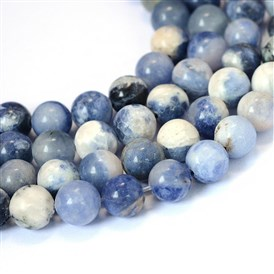 Natural Sodalite Round Bead Strands