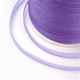 "Organza Ribbon, Galloon, about 1/4""(6mm) wide, 500yards/Roll(457.2m/Roll)"
