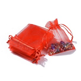 Organza Bags, Wedding Favour Bags, 9x7cm