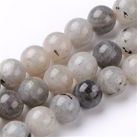 Natural Labradorite Round Bead Strands