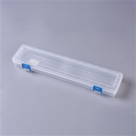 Plastic Storage Box, Stationery Case for Watercolour Oil Paint Pencil