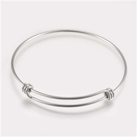 304 Stainless Steel Expandable Bangles