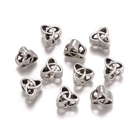 Alloy Beads, Trinity Knot