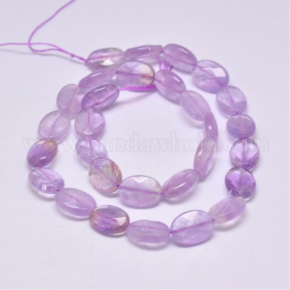 Natural Ametrine Faceted Oval