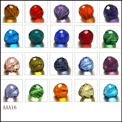 Imitation Austrian Crystal Beads, Grade AAA, Faceted, Teardrop