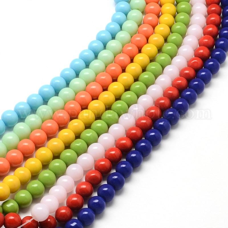 wholesale glass bead strands in bulk pandawhole