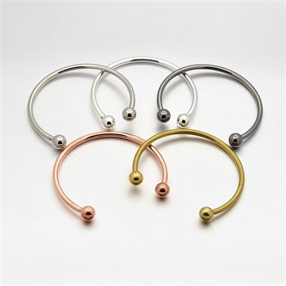 Brass European Style Torque Bangles Making-1