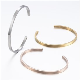 304 Stainless Steel Cuff Bangles