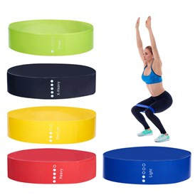 Resistance Loop Bands, Resistance Exercise Bands, for Home Fitness, Stretching, Pilates