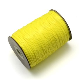 Waxed Polyester Cords, 1mm; about 200yards/roll