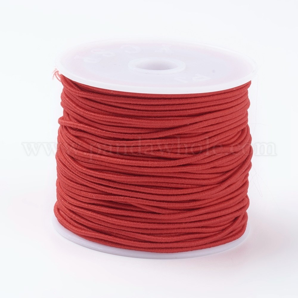 China Factory Elastic Cords Stretchy String For Bracelets Necklaces Jewelry Making 0 6mm 34 37m Roll In Bulk Online Pandawhole Com