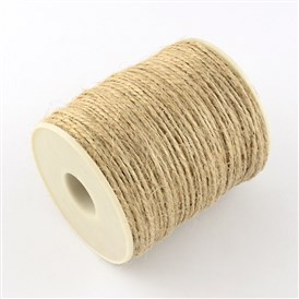 Hemp Cord, for Jewelry Making, 1~2mm; about 100m/roll