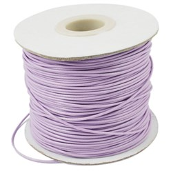 Plum Korean Waxed Polyester Cord, Bead Cord, Plum, 0.8mm; about 185yards/roll