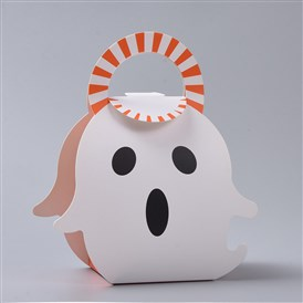 Halloween Party Favor Treat Boxes, Gift Candy Boxes, for Halloween Decoration Party Supplies, Ghost