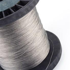 Tiger Tail Wire, Nylon-coated 304 Stainless Steel, 0.25mm; 4000m/1000g