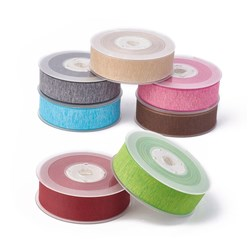 "Mixed Color Polyester Ribbons, Mixed Color, 1""(25mm); about 100yards/roll(91.44m/roll)"