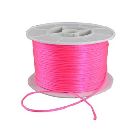 Round Nylon Thread, for Chinese Knot Making, 1mm; 100yards/roll