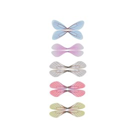 Fashion DIY Earrings Jewelry Accessories, Fibre Tulle Pendants, Dragonfly Wings