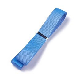 "SteelBlue Grosgrain Ribbons, Polyester Ribbons, Blue Series, SteelBlue, 5/8""(16mm); about 1yard/strand(0.9144m/strand)"