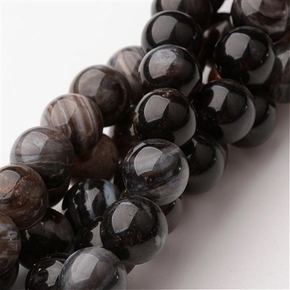 Natural Quartz Round Beads Strands-1