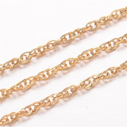 304 Stainless Steel Rope Chains, for Jewelry Making-1
