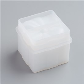 Silicone Gift Box Molds, Resin Casting Molds, For UV Resin, Epoxy Resin Jewelry Making, Square