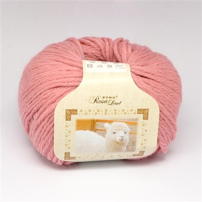 High Quality Hand Knitting Yarns, Andean Alpaca Yarns, with Soft Wool, Alpaca and Artificial Wool, 3mm; about 50g/roll, 80m/roll, 10rolls/bag-1