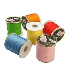Nylon Thread, Nylon Jewelry Cord for Custom Woven Jewelry Making, 0.8mm, about 120m/roll