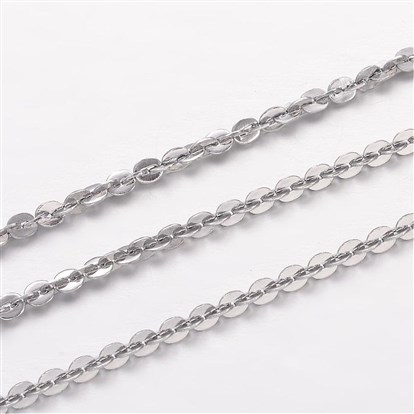 304 Stainless Steel Chains, for Jewelry Making-1