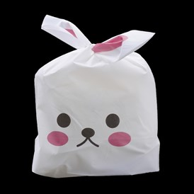 Plastic Candy Bags, Rabbit Ear Bags, Gift Bags, Two-Side Printed