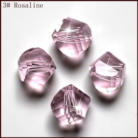 Imitation Austrian Crystal Beads, Grade AAA, Faceted, Polygon