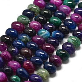 Natural Tourmaline Beads Strands, Egg Stone