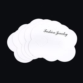 Cardboard Display Cards, Used For Hair Barrettes, Cloud