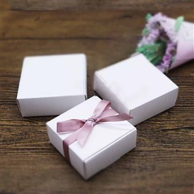 Kraft Paper Gift Box, Folding Boxes, Rectangle
