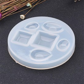 DIY Silicone Moulds, Resin Casting Molds, For UV Resin, Epoxy Resin Jewelry Making, Flat Round
