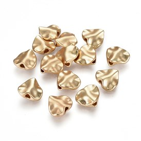 Alloy Beads, Lead Free & Nickel Free & Cadmium Free, Heart
