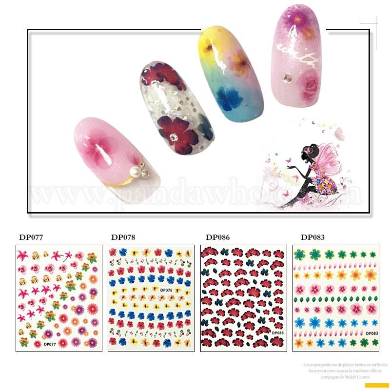 Wholesale Self Adhesive Nail Art Stickers, DIY Nail Art Decoration ...